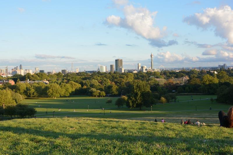 Cosa vedere a Londra in quattro giorni primrose hill skyline
