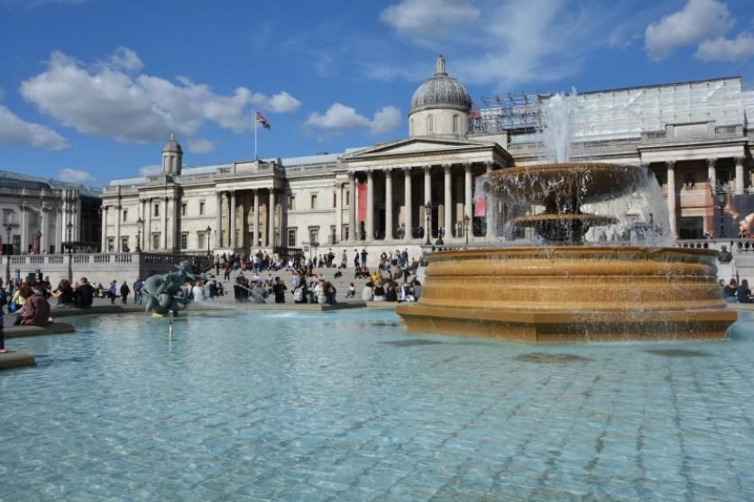 Cosa vedere a Londra in quattro giorni fontana trafalgar square
