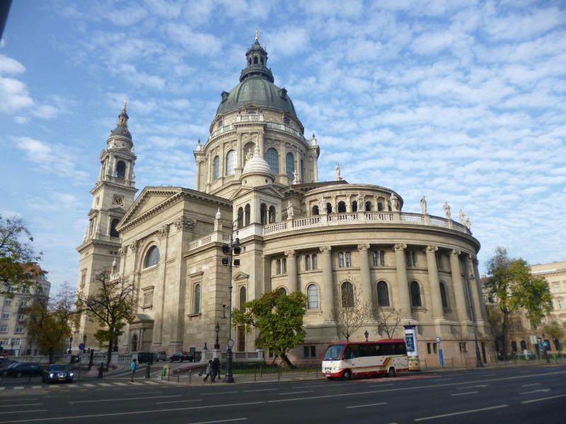Cosa ho visto a Budapest basilica santo stefano