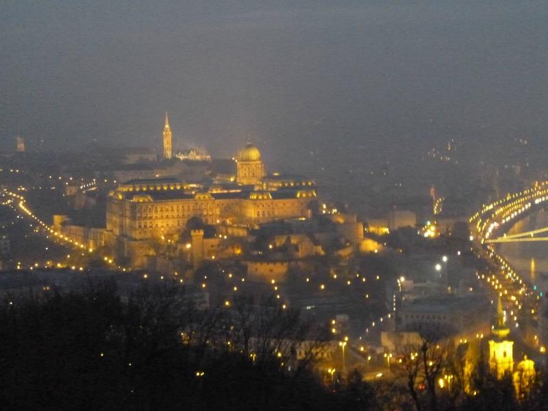 Cosa ho visto a Budapest panorama citadella
