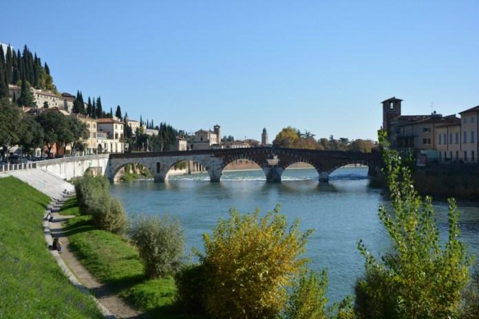 itinerario un giorno verona ponte pietra