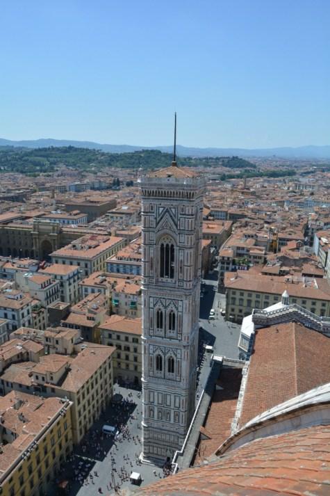 10 città italiane viste alto firenze