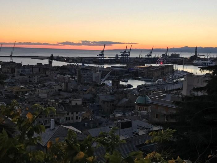 10 città italiane viste alto genova