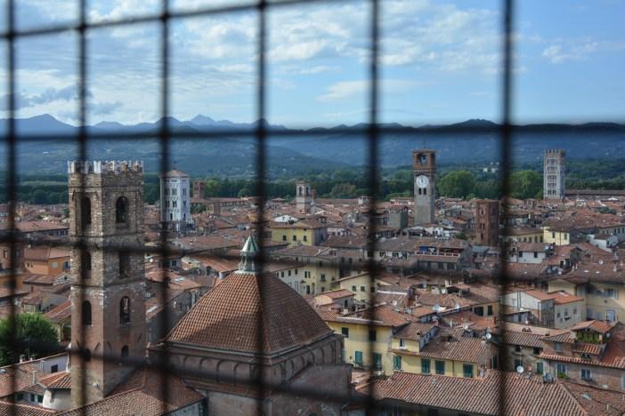 10 città italiane viste alto lucca