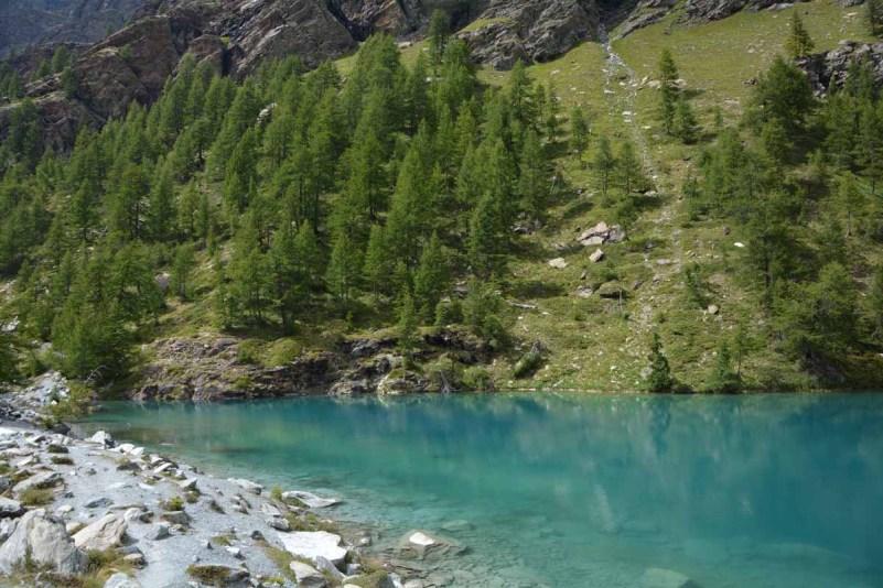 10 cose da fare in Val d'Ayas lago blu