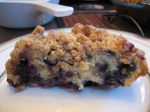 Barefoot Contessa Blueberry Crumb Cake Pie