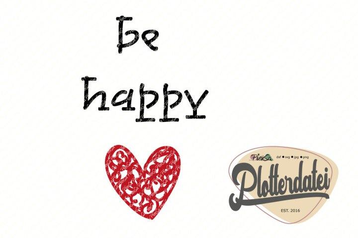 PiexSu-Plotterdatei-plotten-silhouette-cameo-cm900--be-happy-Titelbild
