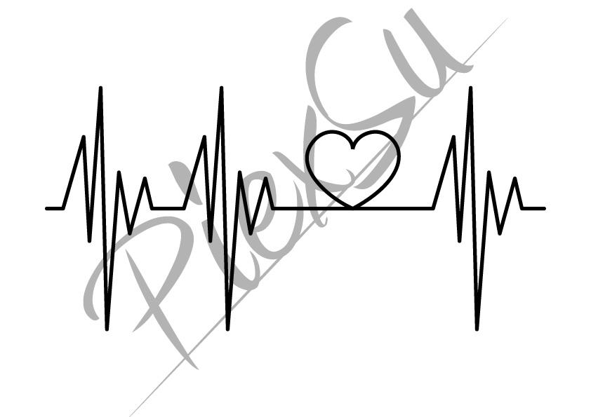 Plotterdatei Heartbeat