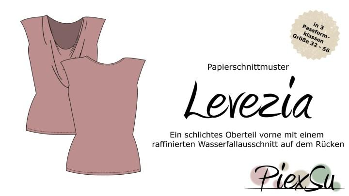 Papierschnittmuster PiexSu Levezia
