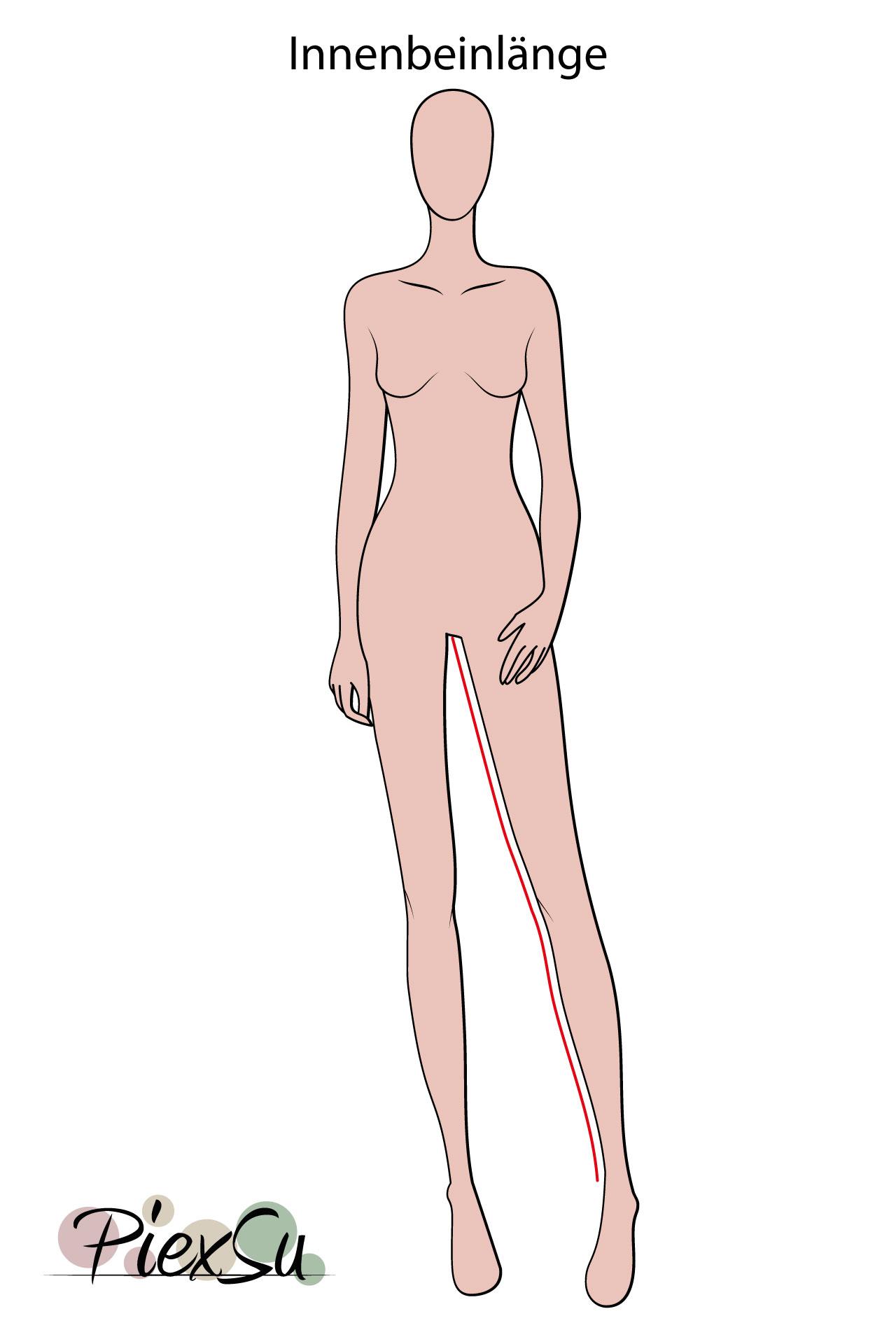 PiexSu-richtig-Maßnehmen-Maße-Schnittmuster-nähen-Schnittmuster-anpassen-messen-Maßband-Innenbeinlänge