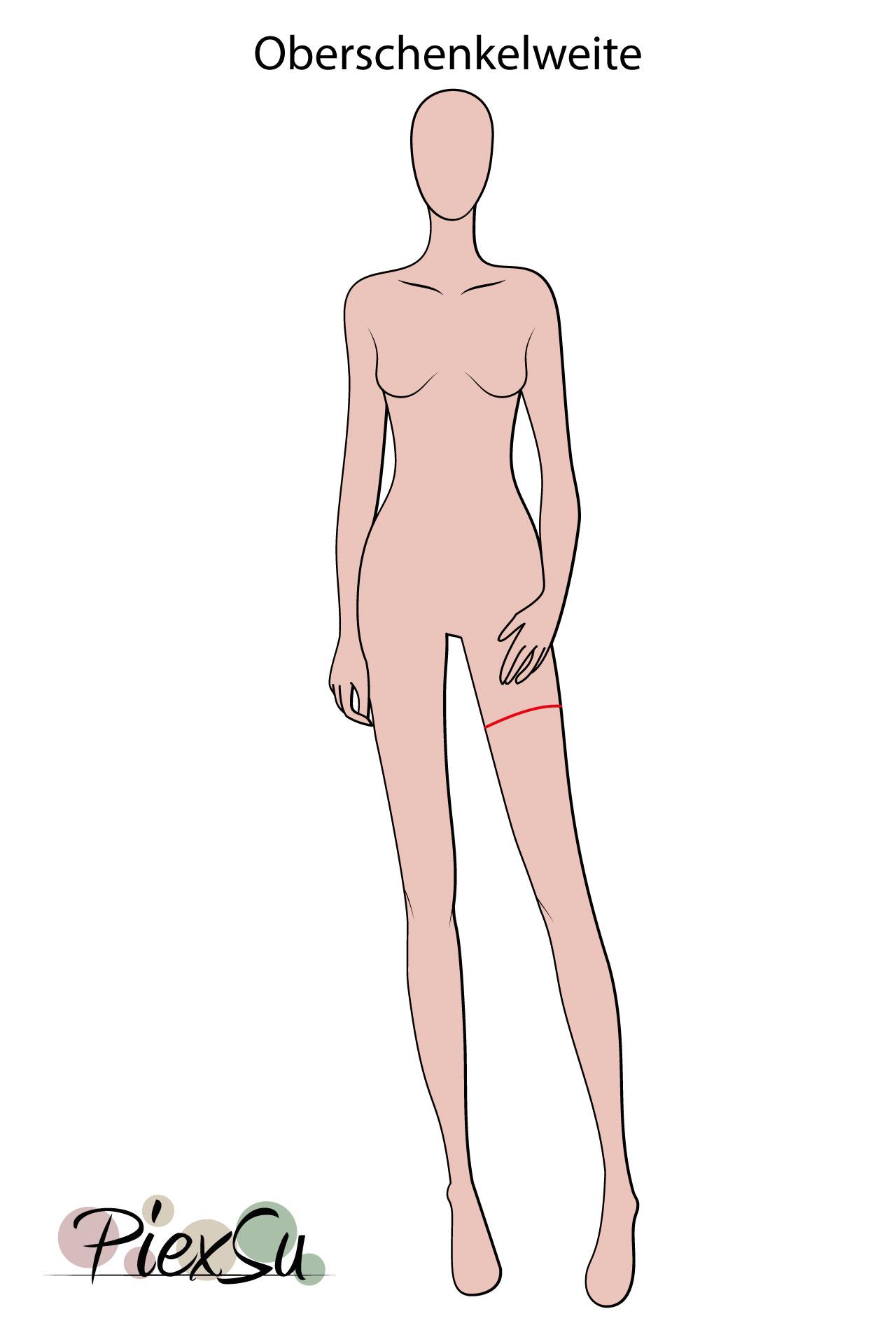 PiexSu-richtig-Maßnehmen-Maße-Schnittmuster-nähen-Schnittmuster-anpassen-messen-Maßband-Oberschenkelumfang-Oberschenkelweite