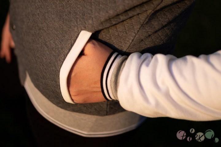 PiexSu College Jacke Scola Schnittmuster Nähanleitung Jacke nähen Rockabilly ebook sweat jeresy bündchen (28)