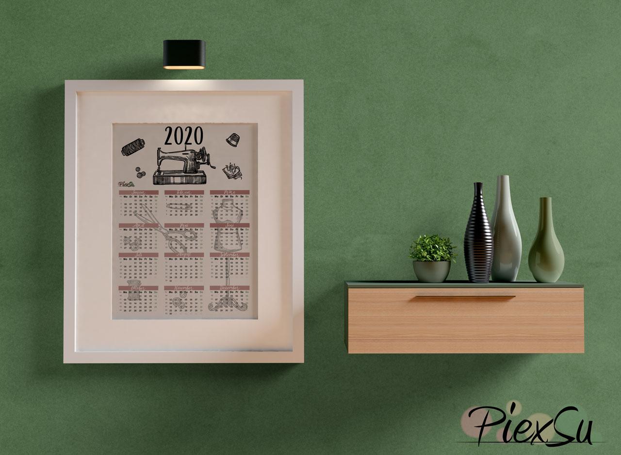 PiexSu-Nähkalender-2020-nähen-schnittmuster-nähanleitung-kalender-jahreskalender-printabel02