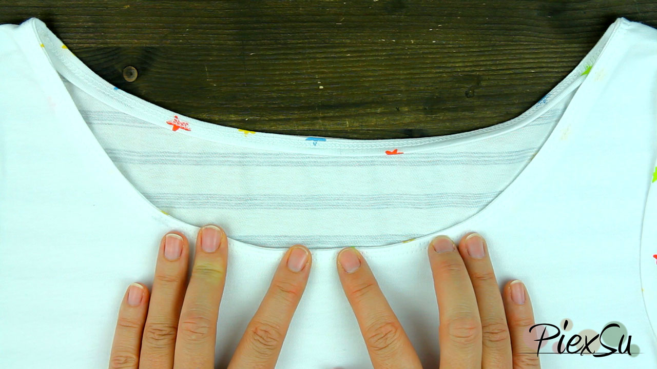 Nähanleitung---Ausschnitt-auf-die-feine-Art-nächen-Ausschnitt-mit-Jerseystreifen-nähen-PiexSu-06
