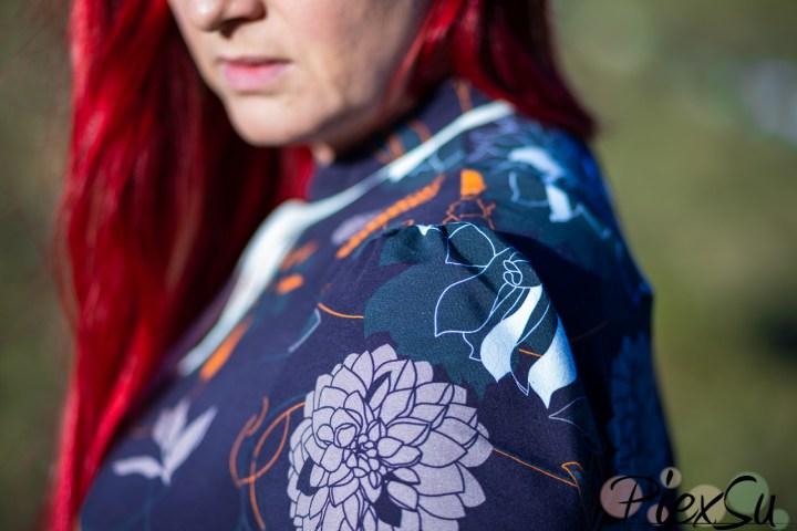 PiexSu Schnittmuster Shirt Fora nähen nähanleitung stehkragen ebook (12)