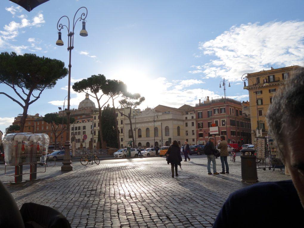 Rome, Naples, rencontre et solo
