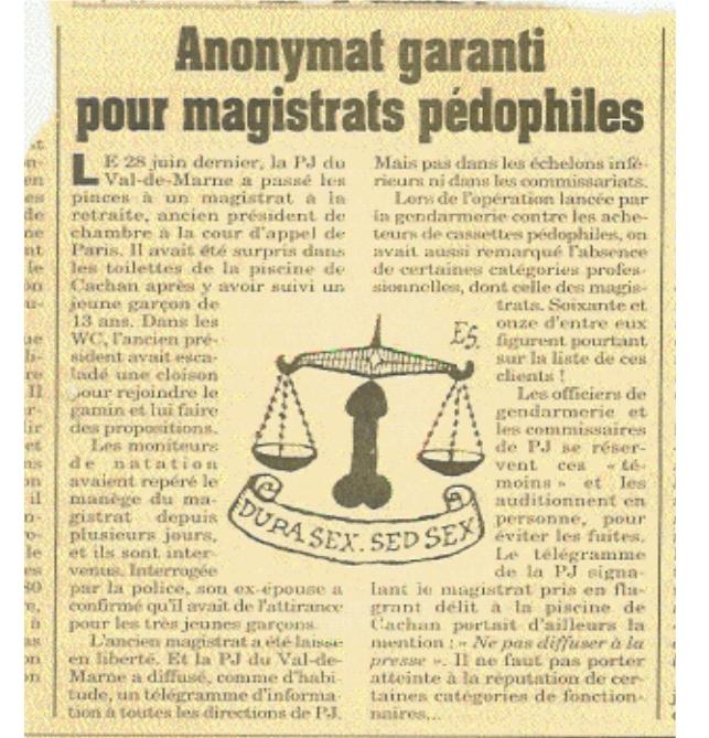 """Résultat de recherche d'images pour """"juges pédophiles"""""""