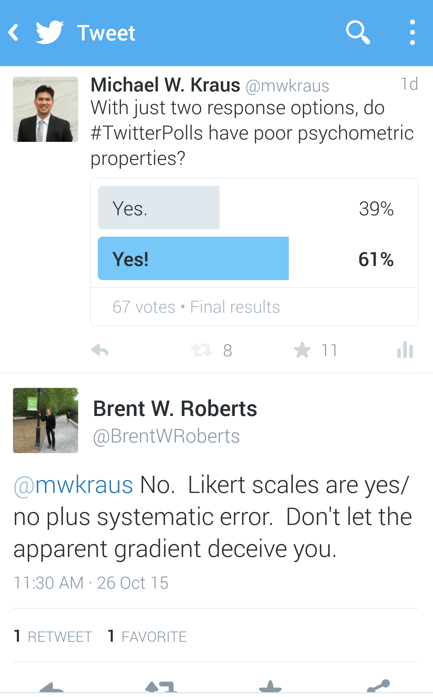Yes Or No Are Likert Scales Always Preferable To Dichotomous Rating Scales