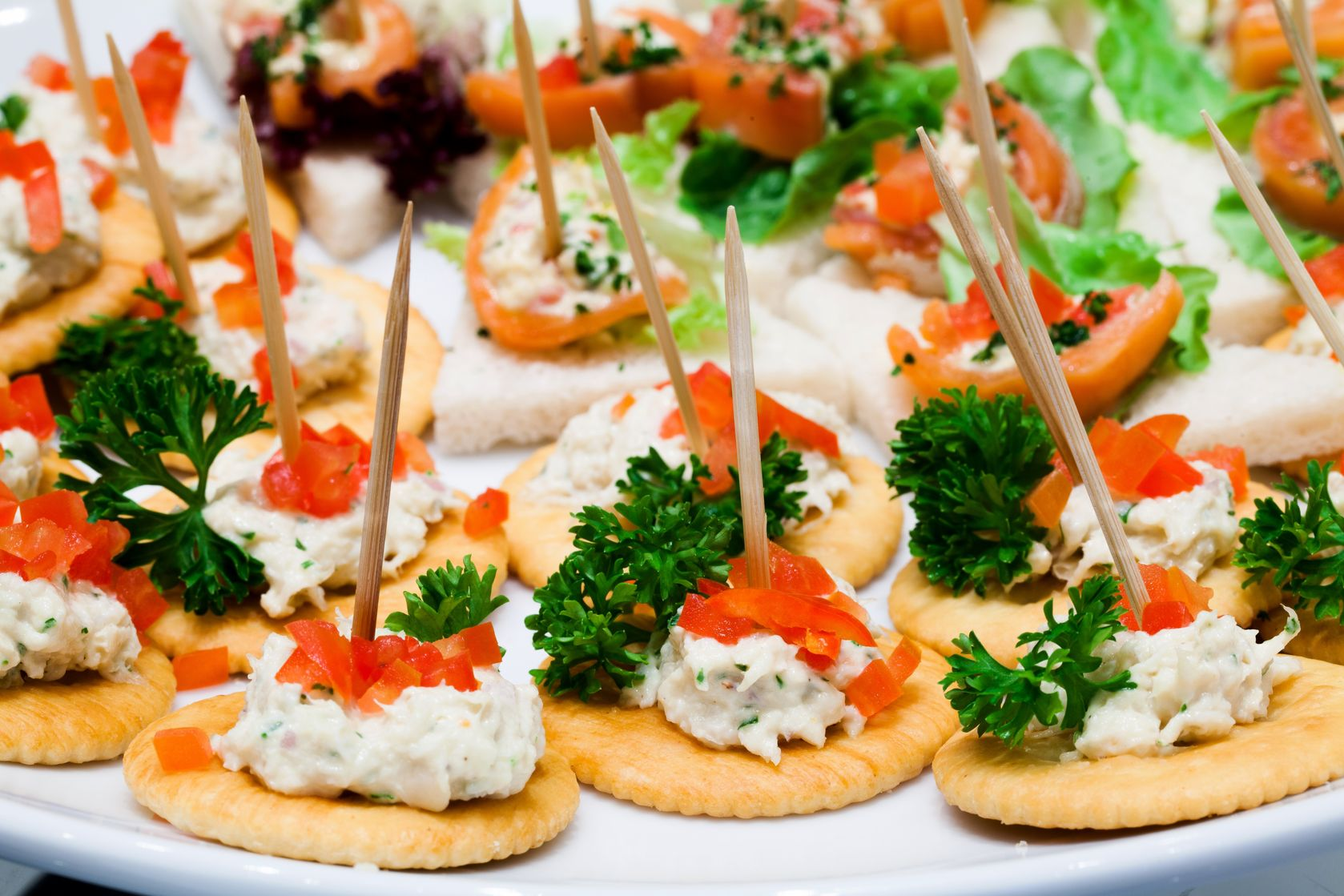 Fingerfood Kind The Best Smoky Mountain Catering Company Chef 39s Catering