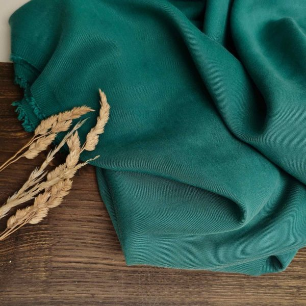 Sanded Tencel Twill(21S) #10 Emerald146 210
