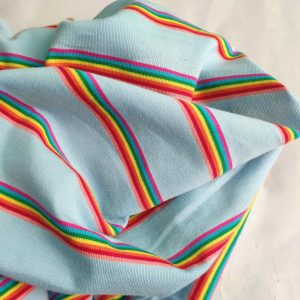 Yarn dyed The Rainbow Jersey(medium weight) -F26689 --4