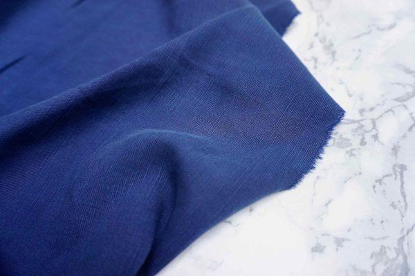 Sanded Lenzing Tencel Linen slub(21s) -1002 --3 Navy