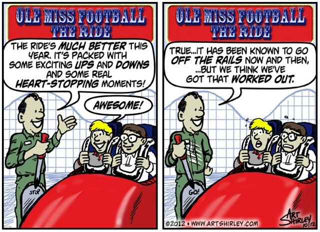 Ole Miss Football-The Ride!