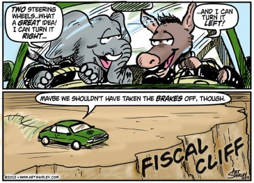 Fiscal Cliff - NO Direction!