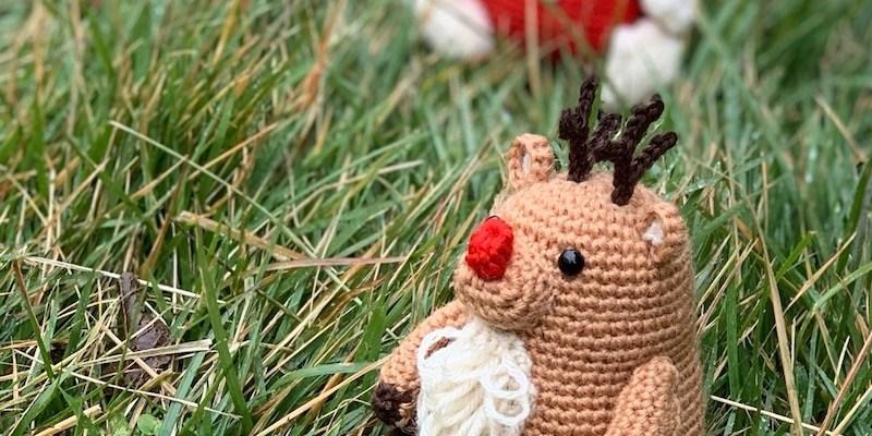 palmy reindeer amigurumi