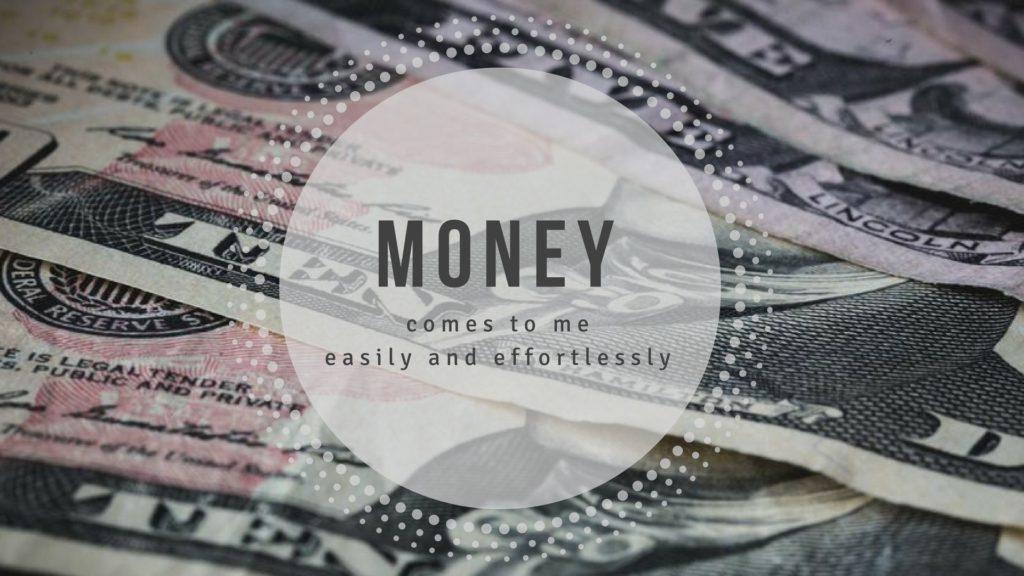 Money Affirmations On 5 Handsome Desktop Wallpapers