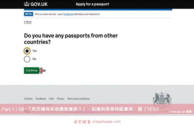 「是否擁有其他國家護照?」