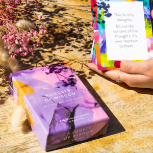 Nuggets of Wisdom Mindfulness Cards