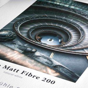 Hahnemühle Matt Fibre 200gsm detail