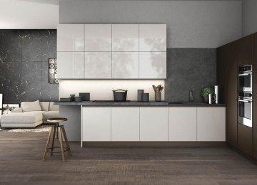 Complementi Arredo Cucina | Cucina Moderna Arredo3 Wood Mobili Giardina