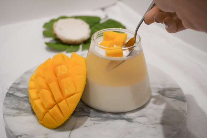young coconut jelly