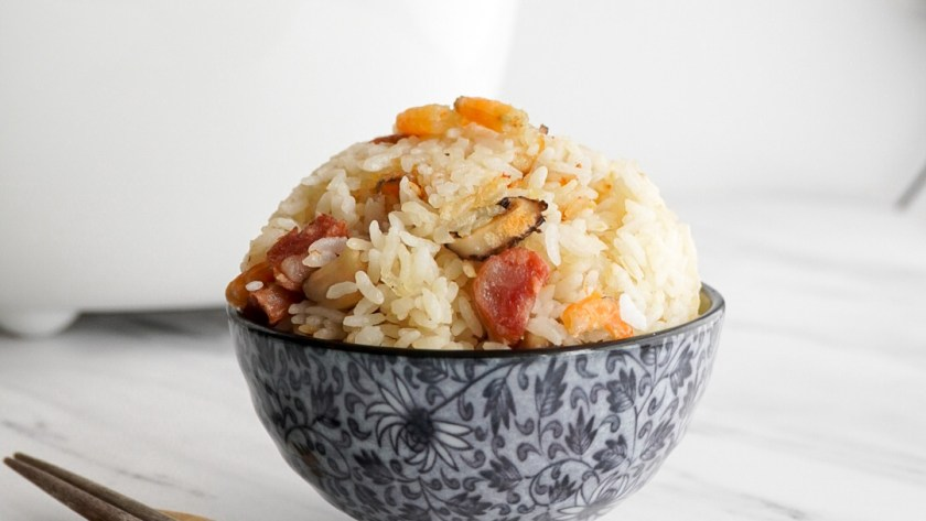 Cured Meat Rice - pigoutyvr