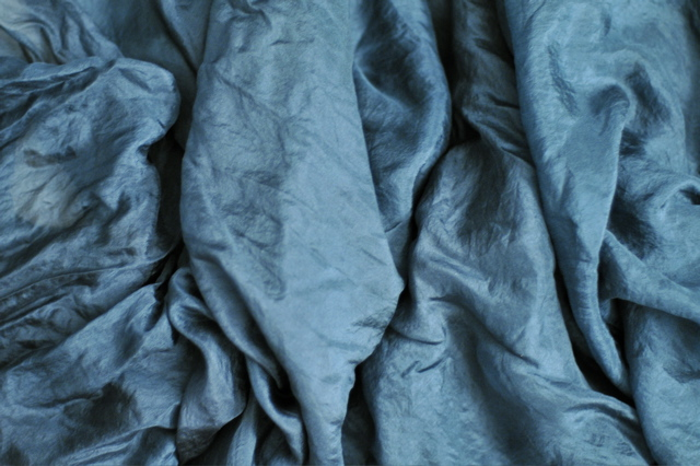 Teal Silk