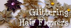 Glitteringhairflowers