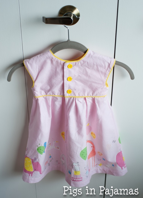 Geranium Dress Birthday Parade Back