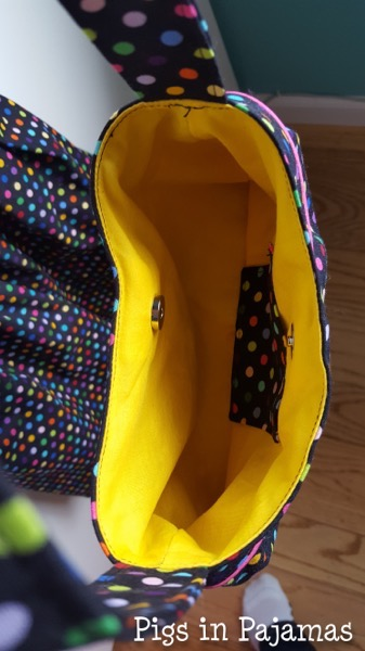 Polka dot buttercup bag inside 37079414016 o