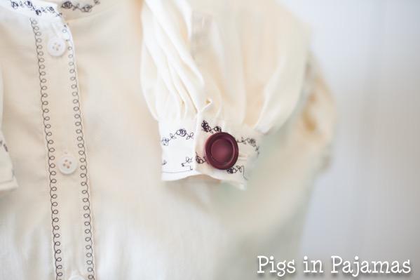 Truly vicorian 441 1861 garibaldi blouse cuff button detail 35560292652 o