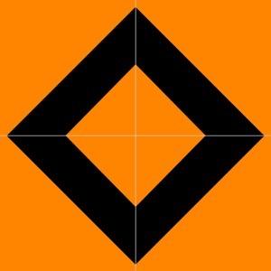 Orange and black square in square in square 30003813866 o