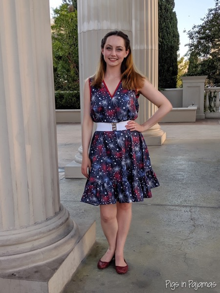 Fourth of July Jiffy Dress
