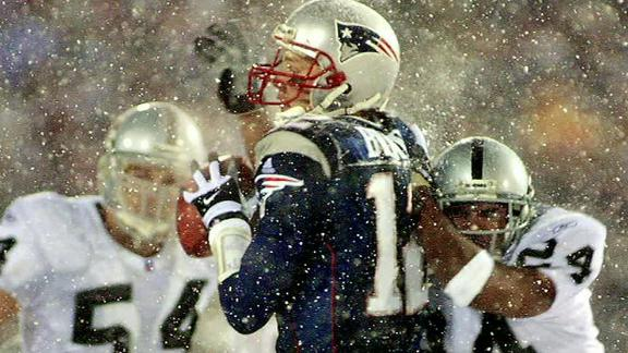 The Infamous Tuck Rule Game (2002) (Photo: Getty Images)