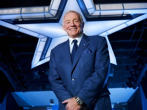 Cowboys Owner/President/General Manager Jerry Jones (Photo: USA Today)