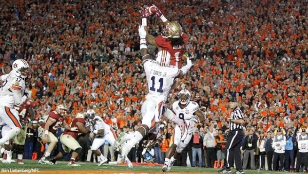 The final touchdown of the BCS era. (Photo: )
