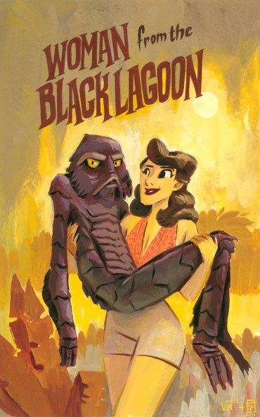 Woman from the Black Lagoon