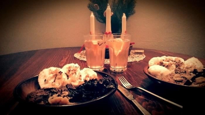 Adventní večeře