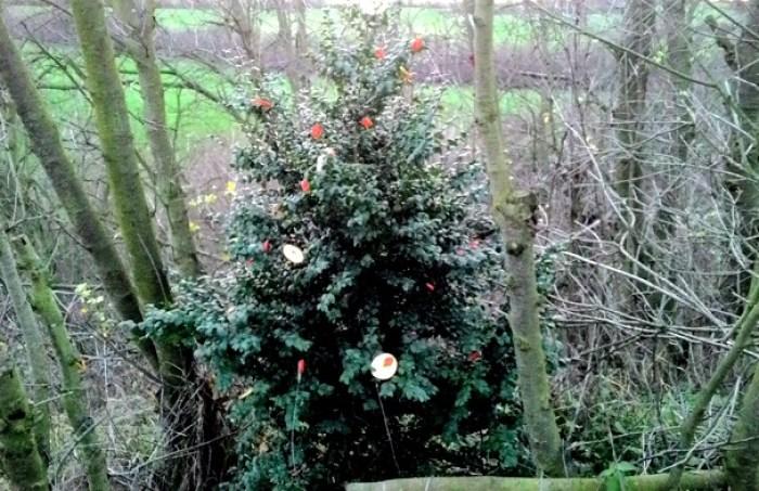 Vánoční stromek por zvířátka