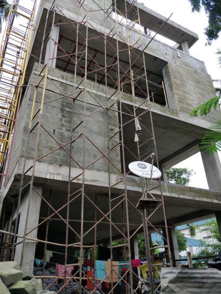 PIHPL office Front under construction